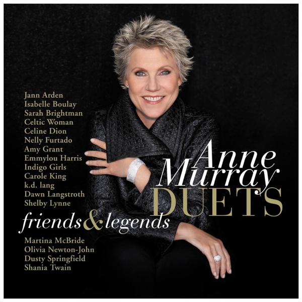 Anne Murray Duets: Friends & Legends Album Cover