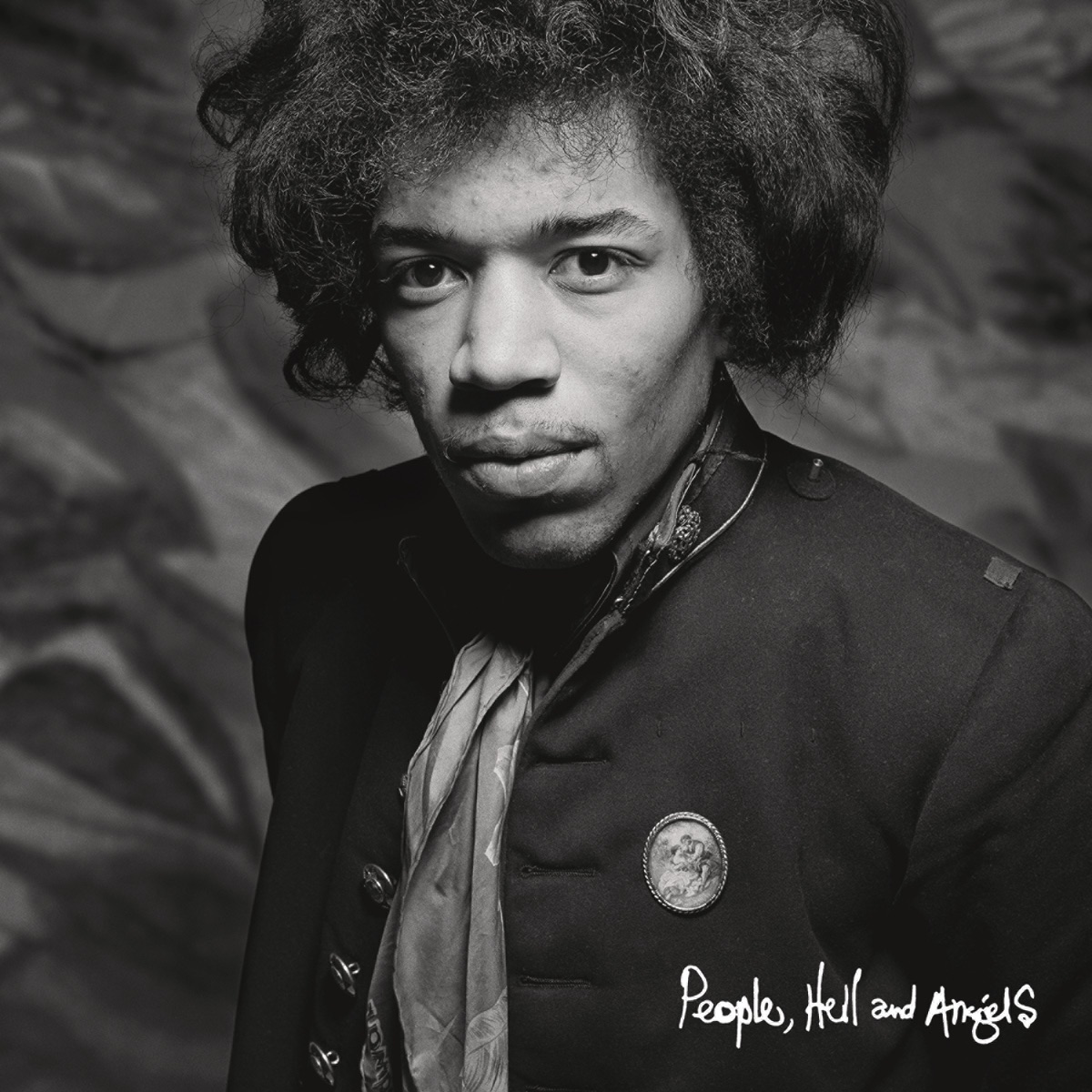 People Hell and Angels Jimi Hendrix CD cover