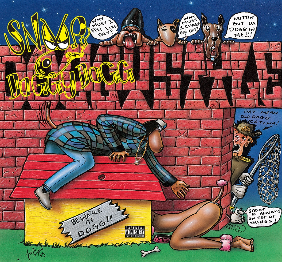 Doggystyle Snoop Dogg CD cover