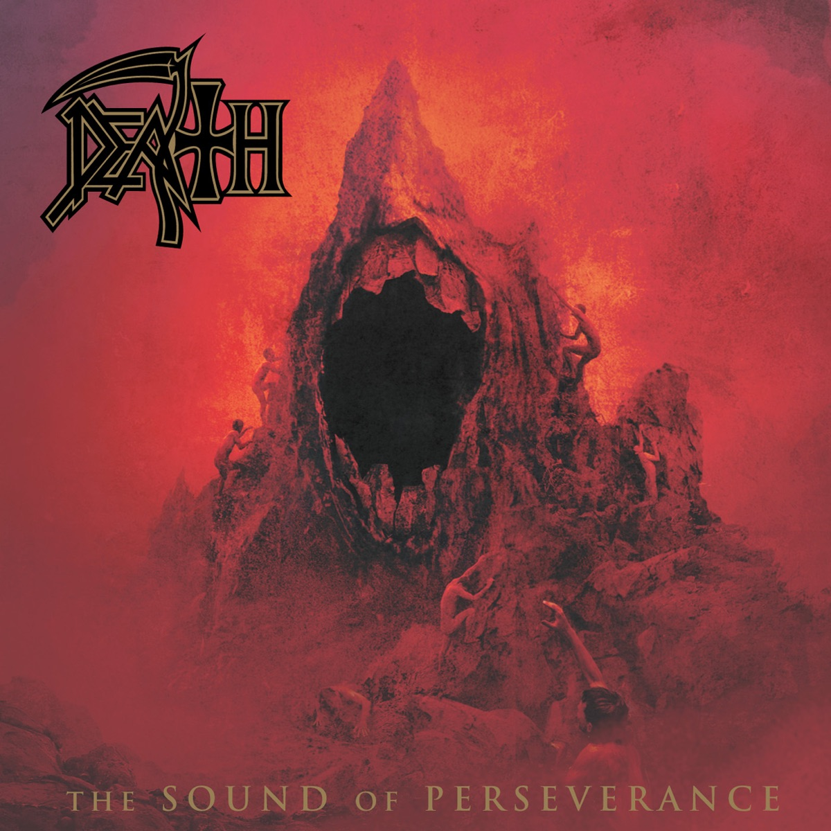 The Sound Of Perseverance Album Cover By Death