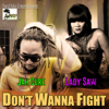 Jah Cure & Lady Saw - Don't Wanna Fight artwork