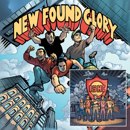 New Found Glory & International Superheroes Of Hardcore - Tip of the Iceberg - EP / Takin' It Ova!