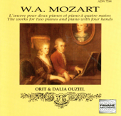 Mozart: The Works for Two Pianos & Piano Four Hands