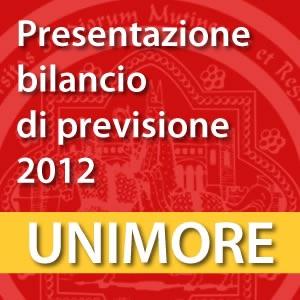 Presentazione del Bilancio di Previsione 2012 [Video]