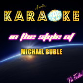 Karaoke - In the Style of Michael Buble - EP