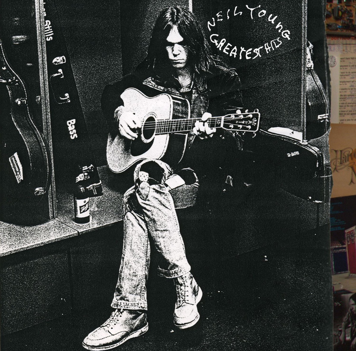 Greatest Hits Neil Young CD cover