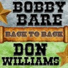 Icon Back To Back: Bobby Bare & Don Williams