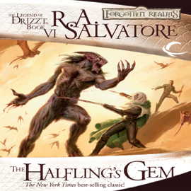 The Halfling's Gem: Legend of Drizzt: Icewind Dale Trilogy, Book 3 (Unabridged) audiobook