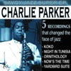 Savoy Jazz Super EP Charlie Parker Vol 1