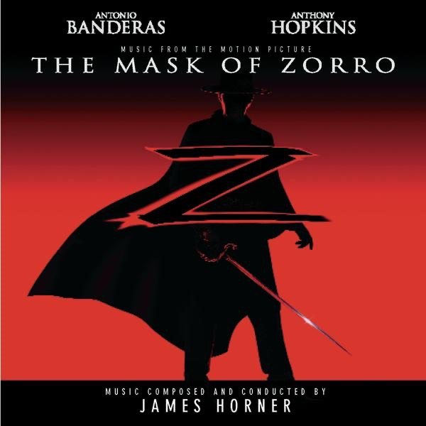 The Mask of Zorro Album Cover by James Horner