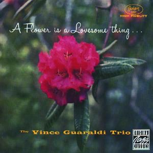 A Flower Is a Lovesome Thing Remastered Vince Guaraldi Trio CD cover