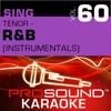 Sing Tenor R B Vol 60 Karaoke Performance Tracks
