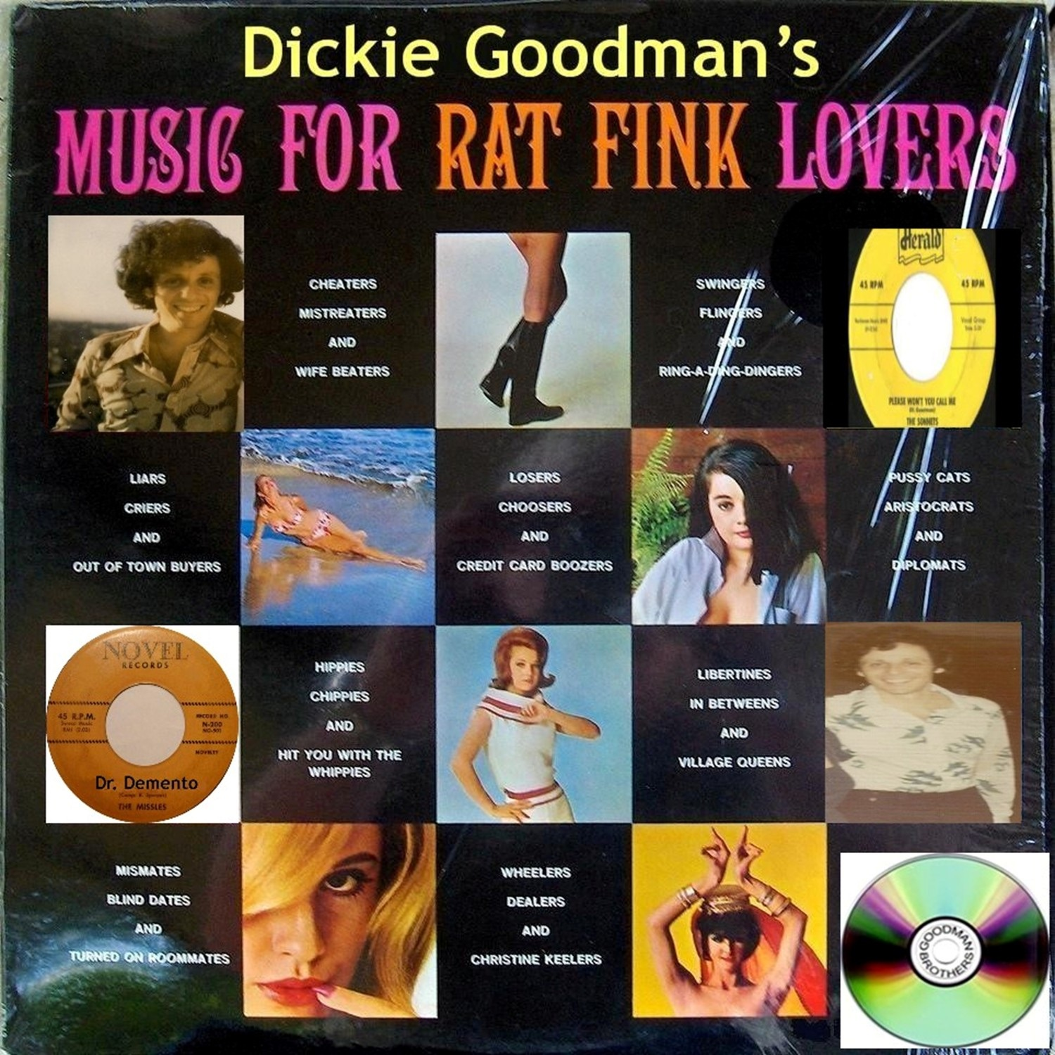 Dickie Goodman's Music for Rat Fink Lovers