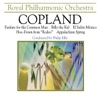 Copland Appalachian Spring Billy the Kid Suite