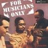 For Musicians Only ジャケット写真
