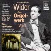 Widor: Complete Organ Works Vol. 1