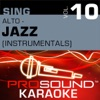 Sing Alto Jazz Vol 10 Karaoke Performance Tracks