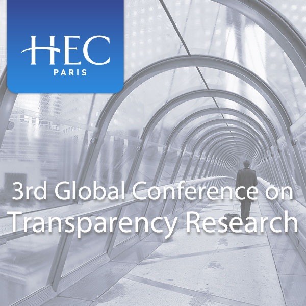 3rd Global Conference on Transparency Research