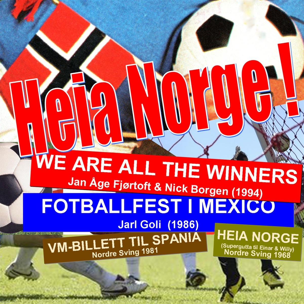 Heia Norge - EP Various Artists CD cover