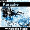 The Karaoke Studio - Unconditionally (In the Style of Katy Perry) [Karaoke Version] artwork