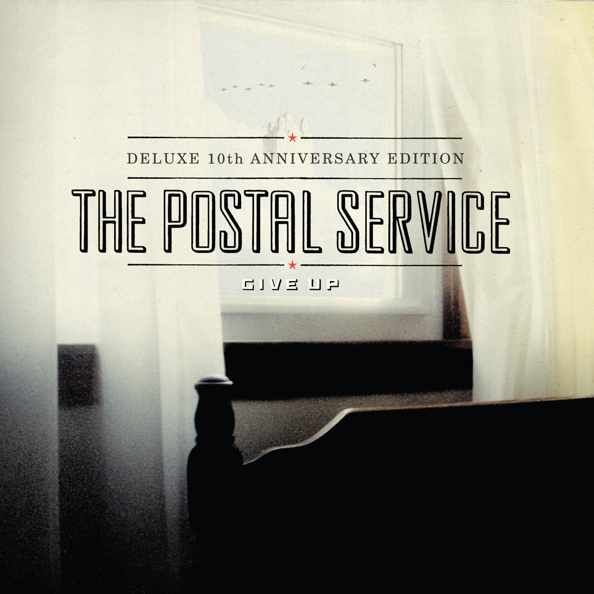 Give Up Deluxe 10th Anniversary Edition The Postal Service CD cover