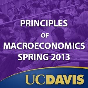 Principles of Macroeconomics, Spring 2013