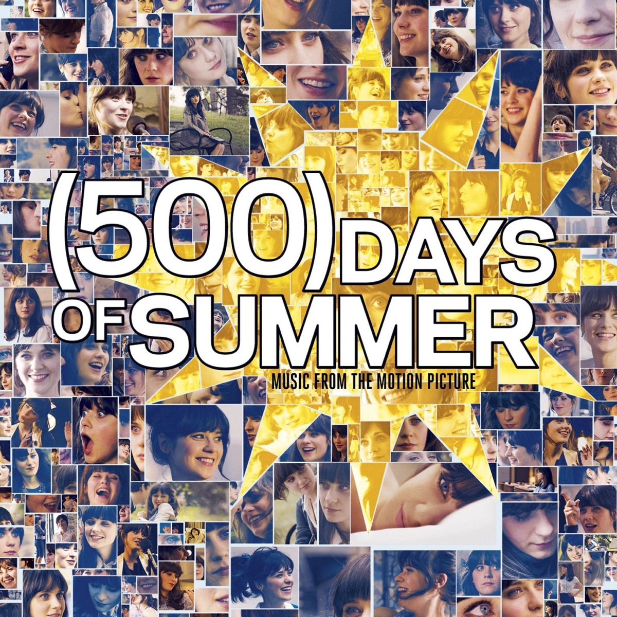 500 Days of Summer Music from the Motion Picture Bonus Track Version Various Artists CD cover