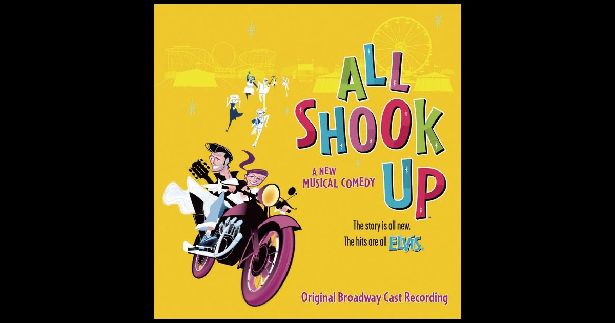 """all shook up heartbreak hotel broadway """"all shook up"""" is an energetic broadway production set in """"all shook up"""" features all the elvis classics, including """"heartbreak hotel."""