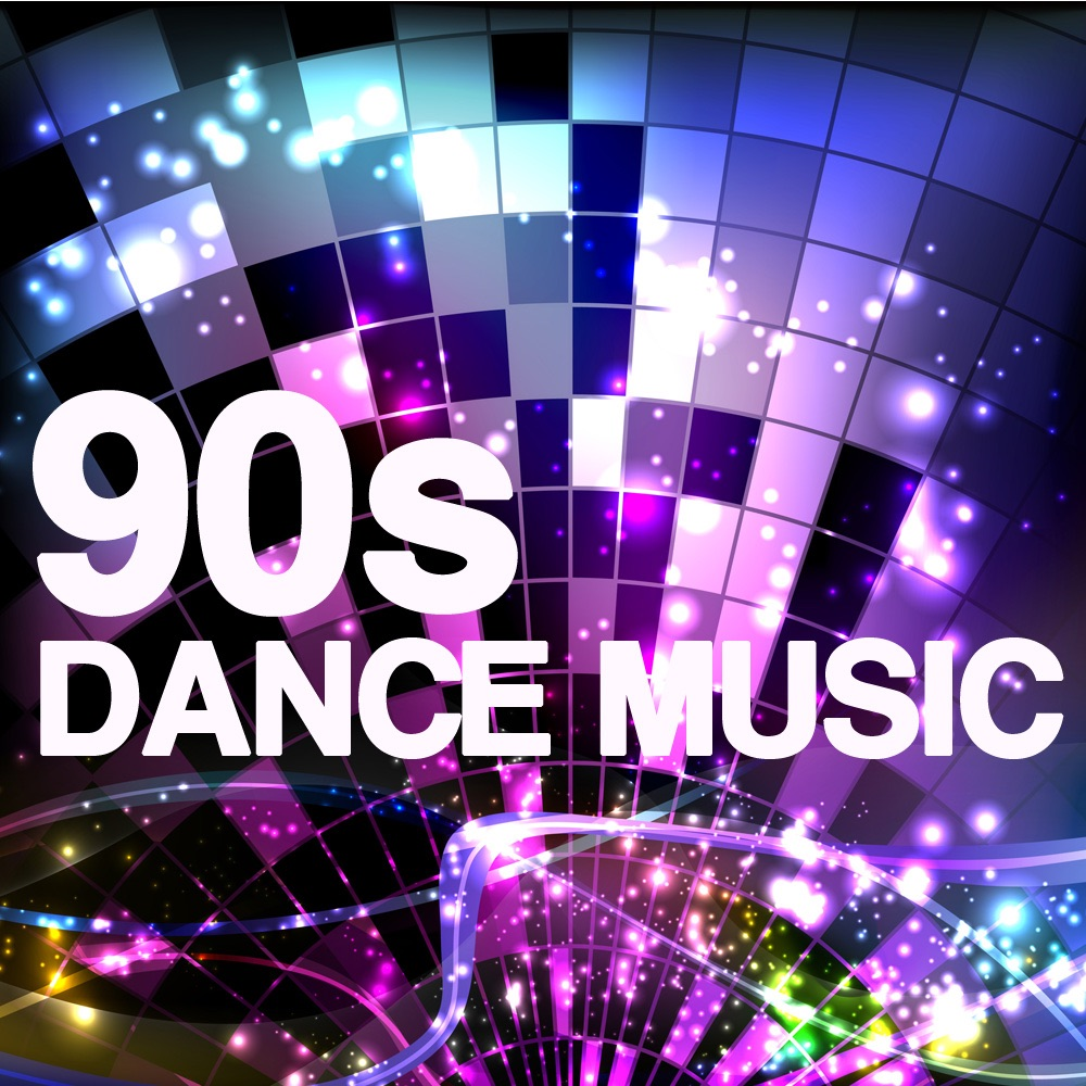 90s Dance Music - 90s Songs Workout Music Album Cover by