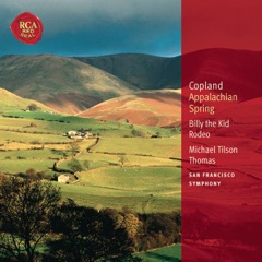 Copland: Appalachian Spring, Billy the Kid & Rodeo