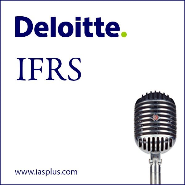 Deloitte IFRS video podcast