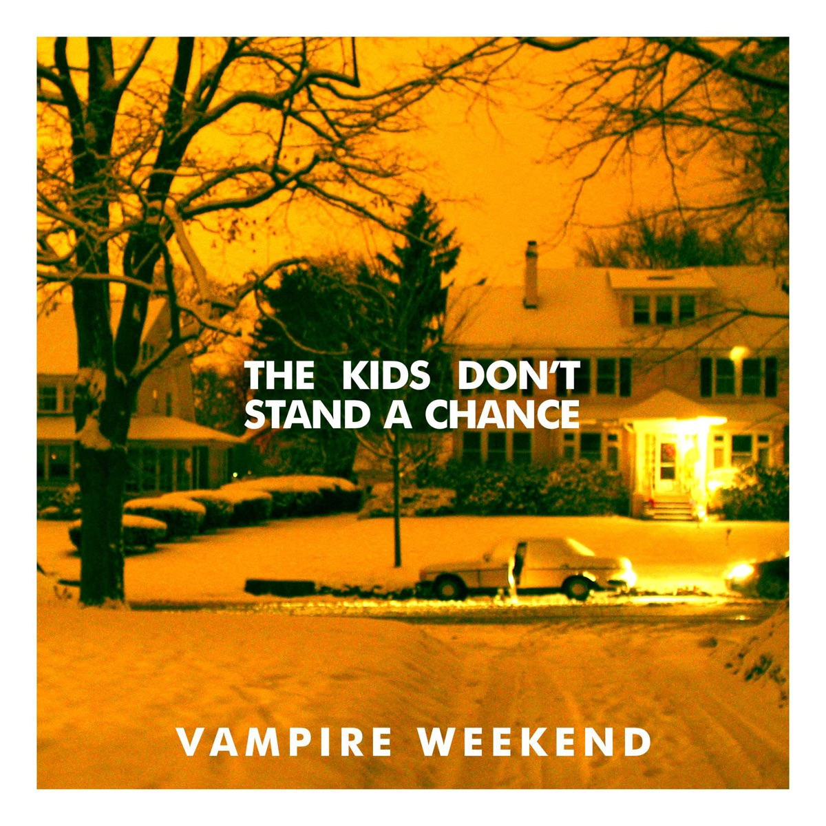 The Kids Dont Stand a Chance - Single Vampire Weekend CD cover