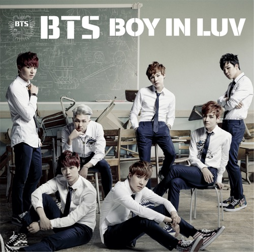 BTS - BOY IN LUV -Japanese Ver.- Single
