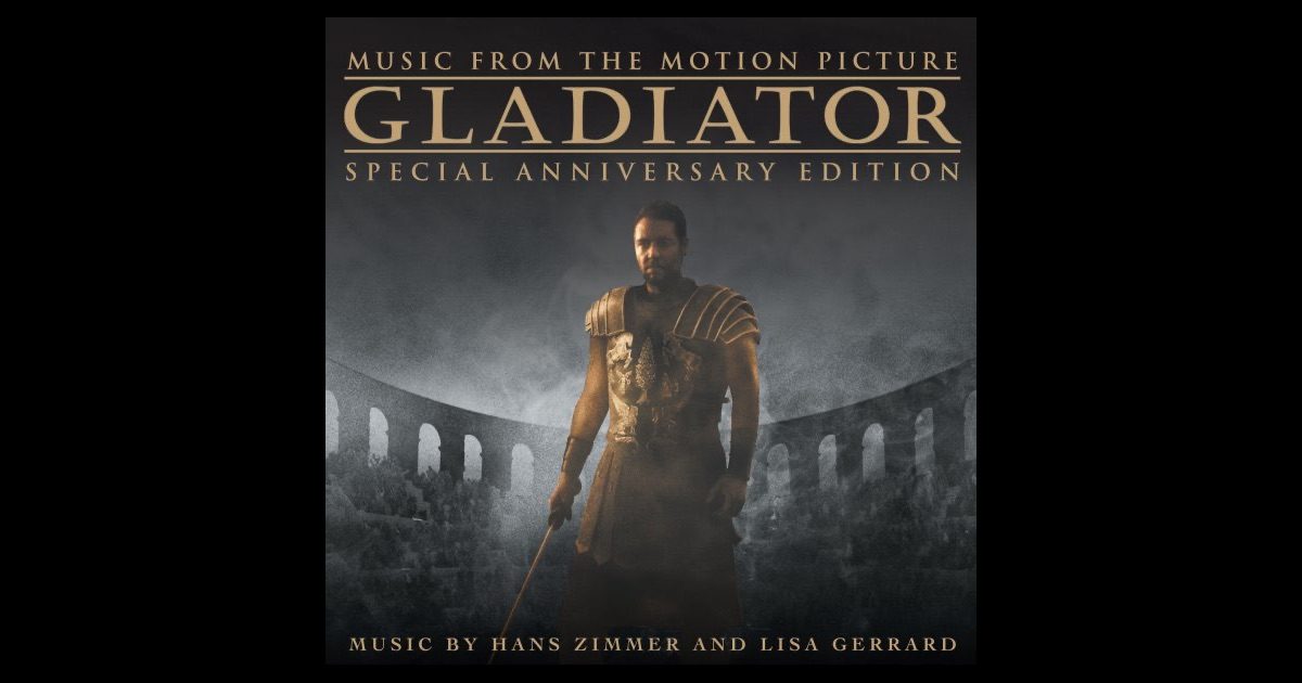Gladiator music from the motion picture special for Gladiator hans zimmer