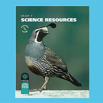 FOSS CA: Matter and Energy Science Resources Book Audio Stories