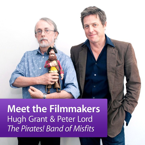 """Hugh Grant and Peter Lord, """"The Pirates! Band of Misfits"""": Meet the Filmmakers"""