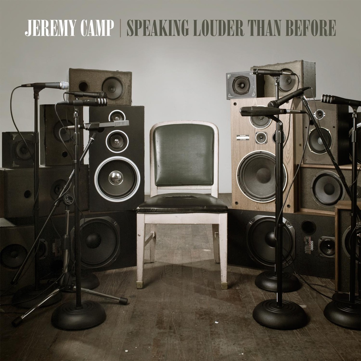 Speaking Louder Than Before Jeremy Camp CD cover