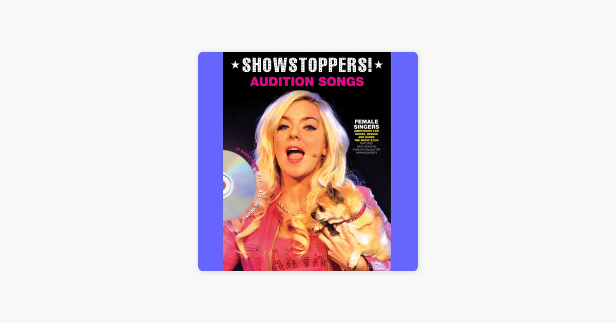 ‎Audition Songs - Showstoppers by The Backing Tracks
