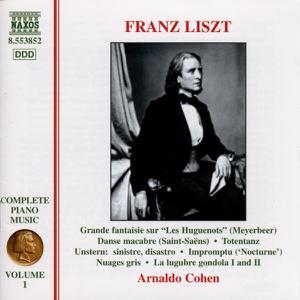 Arnaldo Cohen - Liszt: Complete Piano Music, Vol. 1