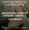 Agrupacion LatinHits - Instrumental Karaoke Series: Julio Iglesias, Vol. 1 (Karaoke Version) artwork