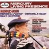 "Mendelssohn: Symphony No. 3 – ""Scottish"" & Symphony No. 4 – ""Italian""; Fingal's Cave Overture ジャケット写真"