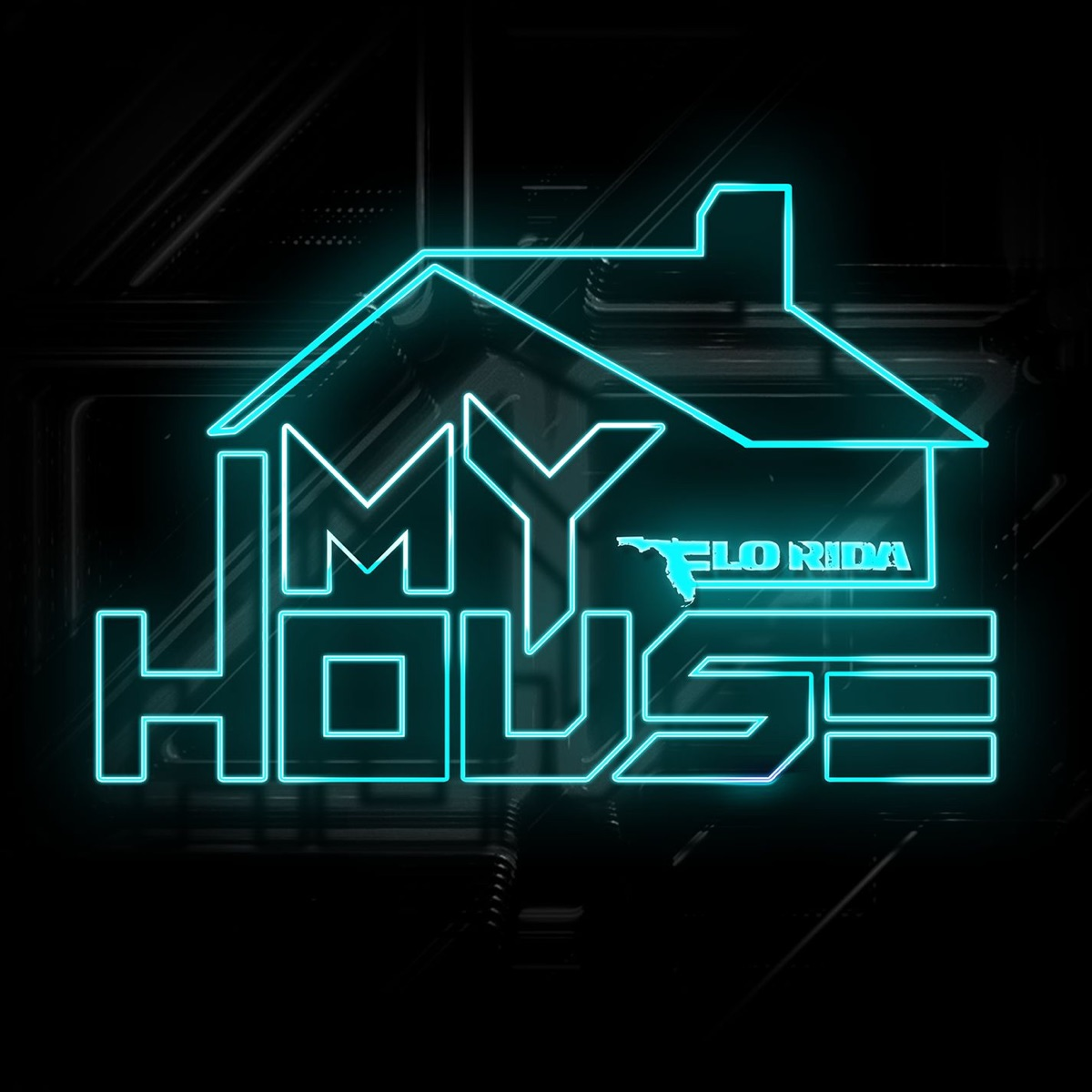 My House Flo Rida CD cover