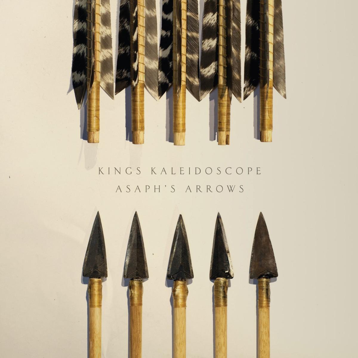 Asaphs Arrows - EP Kings Kaleidoscope CD cover