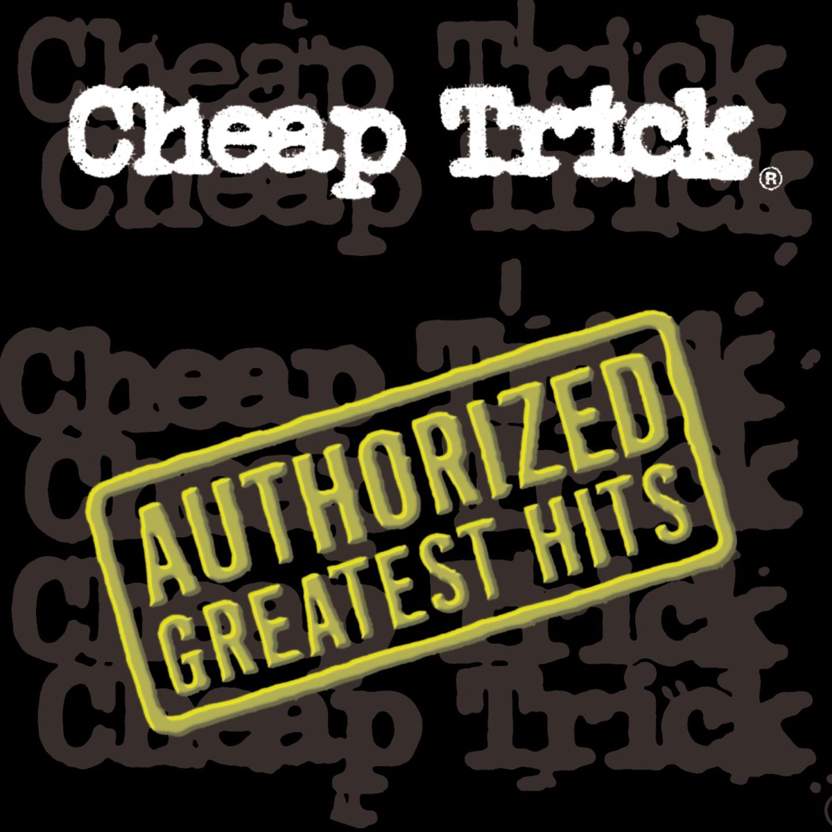 Authorized Greatest Hits Cheap Trick CD cover