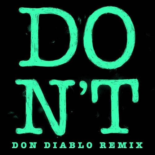 Ed Sheeran - Don't (Don Diablo Remix) - Single