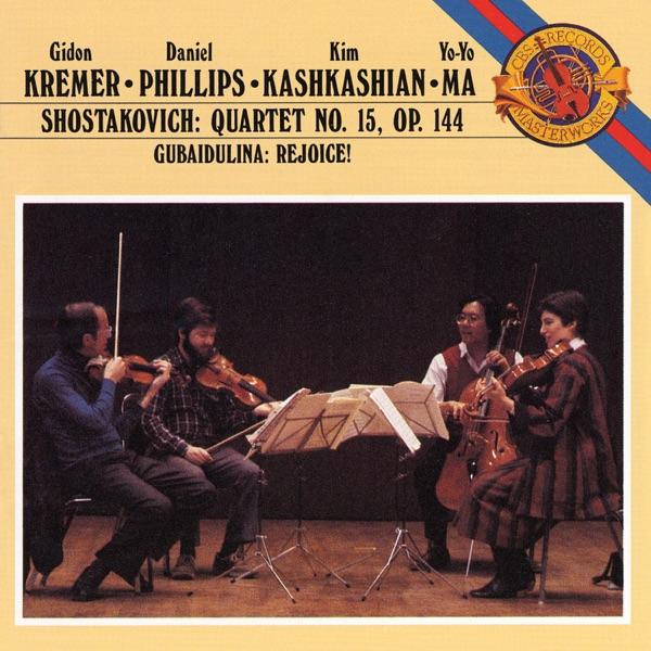 Shostakovich: Quartet No. 15 - Gubaidulina: Rejoice