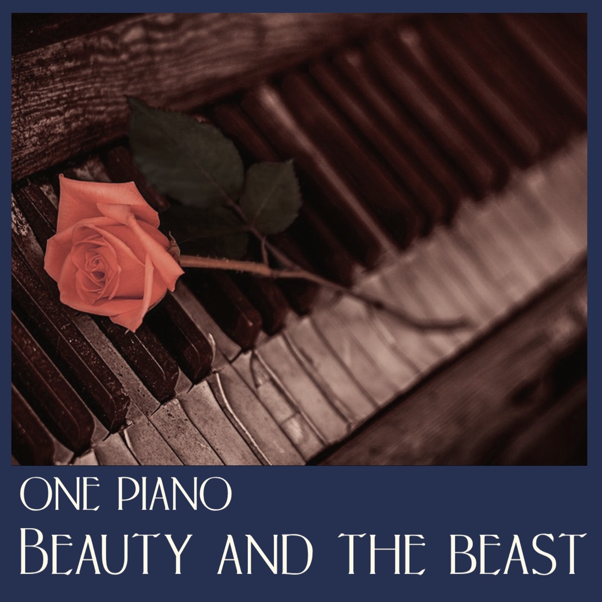 Beauty and the Beast One Piano CD cover