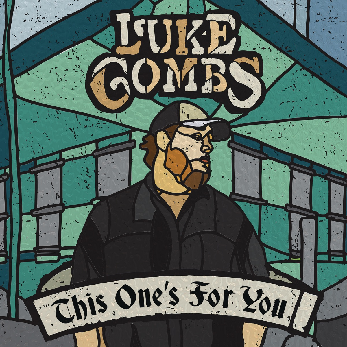 This Ones for You Luke Combs CD cover
