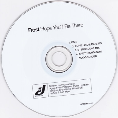Hope You'll Be There - EP - Frost