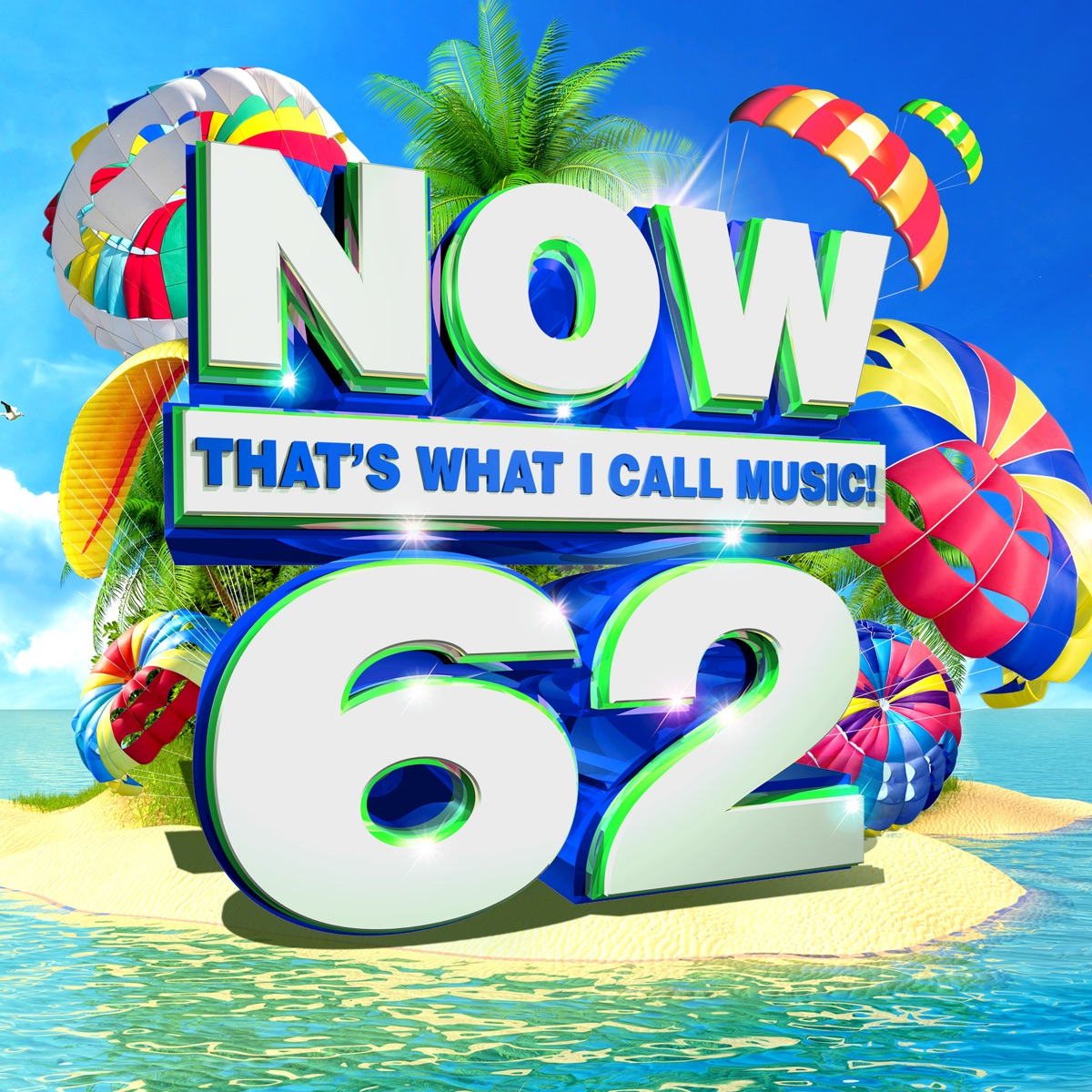 NOW Thats What I Call Music Vol 62 Various Artists CD cover
